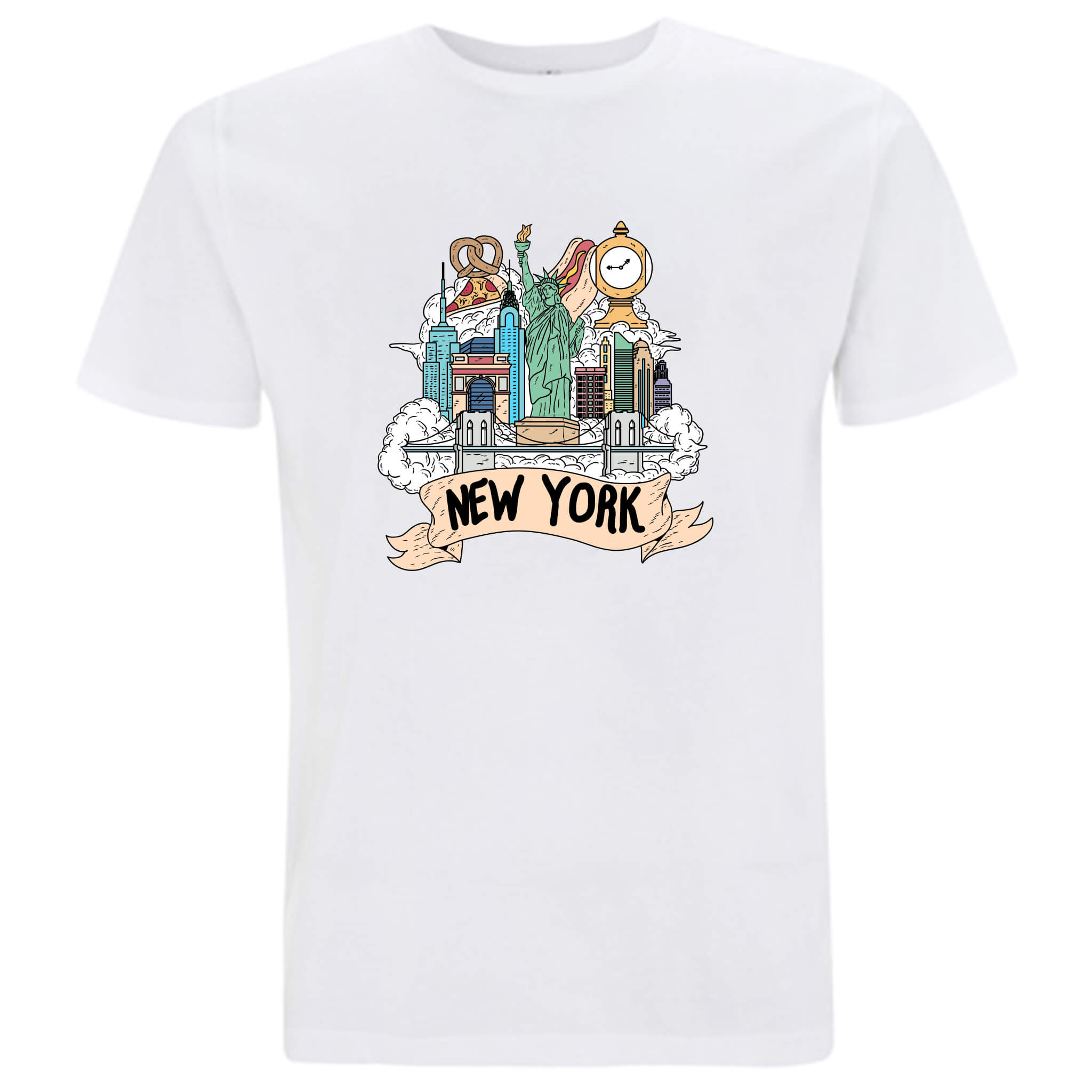 Località: New York - T-shirt Uomo - T-Shirt by Fol The Brand