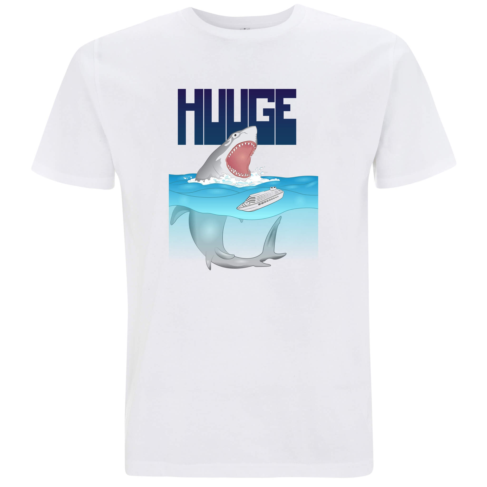 Huuge Squalo - T-shirt Uomo - T-Shirt by Fol The Brand