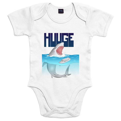 Huuge Squalo - Body Bambino - Body by Fol The Brand
