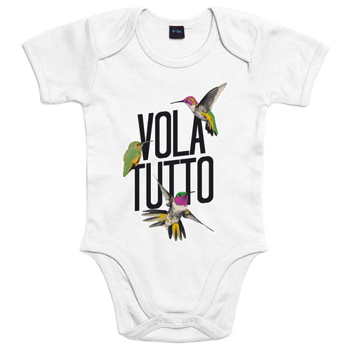 Volatutto Colibrì - Body Bambino - Body by Fol The Brand