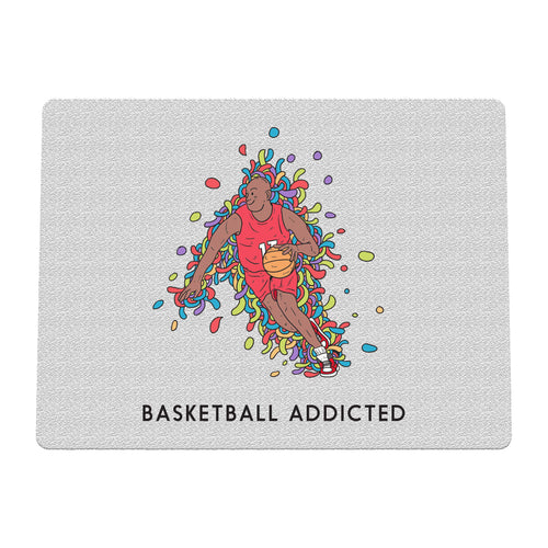 Sport Addicted: Basket - Tappetino mouse
