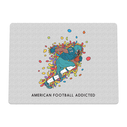 Sport Addicted: Football Americano - Tappetino mouse - Tappetino mouse by Fol The Brand