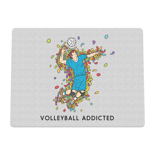 Sport Addicted: Pallavolo - Tappetino mouse - Tappetino mouse by Fol The Brand