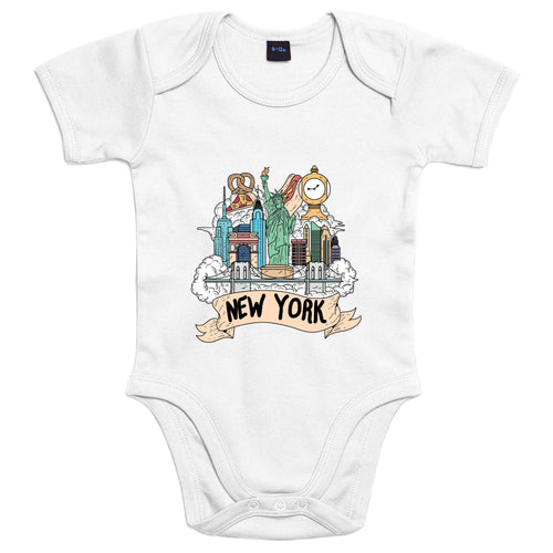 Località: New York - Body Bambino - Body by Fol The Brand