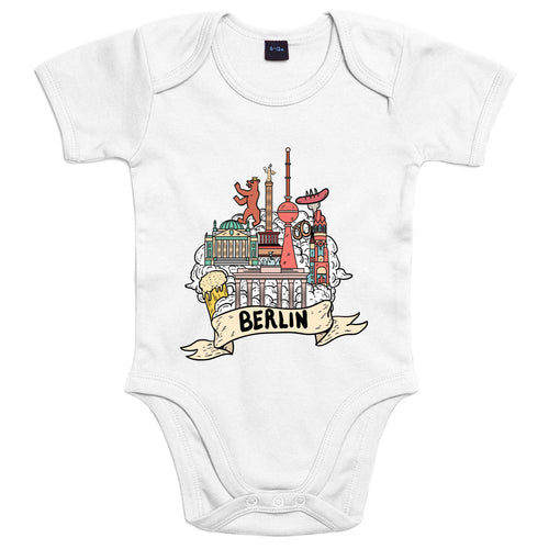 Località: Berlino - Body Bambino - Body by Fol The Brand