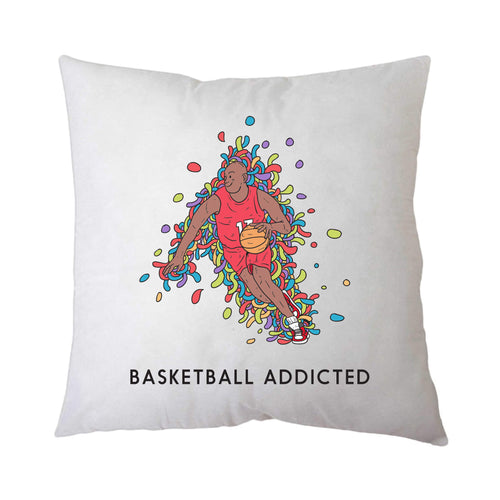 Sport Addicted: Basket - Cuscino - Cuscino by Fol The Brand