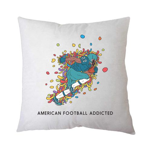 Sport Addicted: Football Americano - Cuscino - Cuscino by Fol The Brand