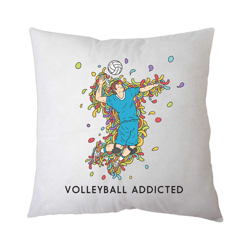 Sport Addicted: Pallavolo - Cuscino - Cuscino by Fol The Brand