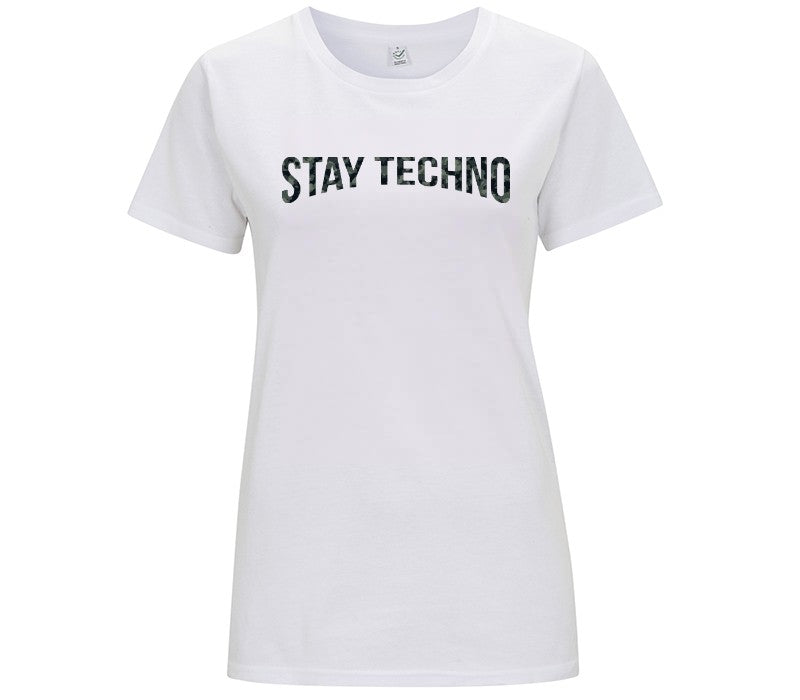 STAY TECHNO CAMO  T-shirt DONNA - T-Shirt by Fol The Brand