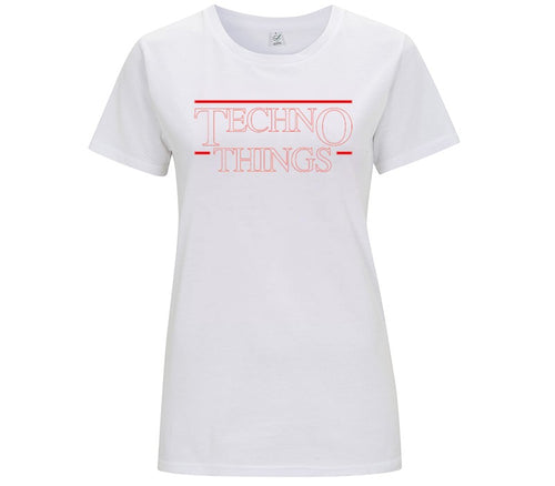 TECHNO THINGS BASE - T-SHIRT DONNA