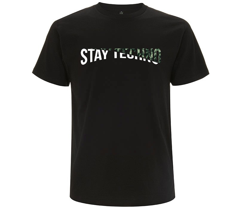 STAY TECHNO CUT MODE/ MILITARY T-SHIRT UOMO