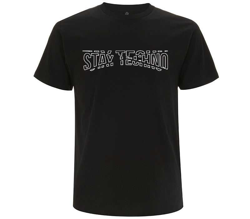 STAY TECHNO FRAGMENT SLIM T-SHIRT UOMO - T-shirt by Fol The Brand