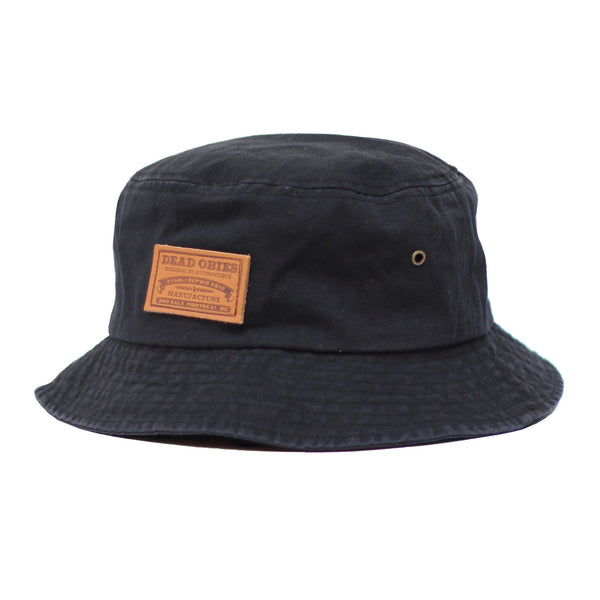 Bucket Hat D.O. - Noir/Black