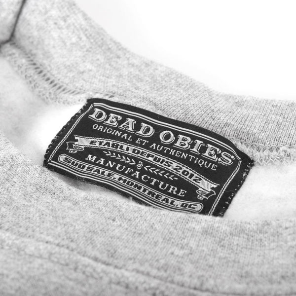 Crewneck D.O. Original - Gris/Grey