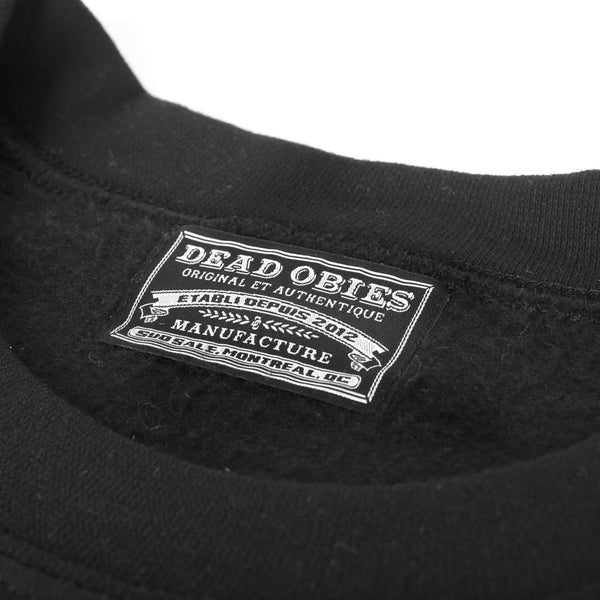 Crewneck D.O. Original - Noir/Black