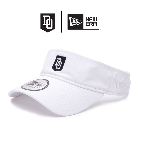 DO X New Era Visor - Blanc/White