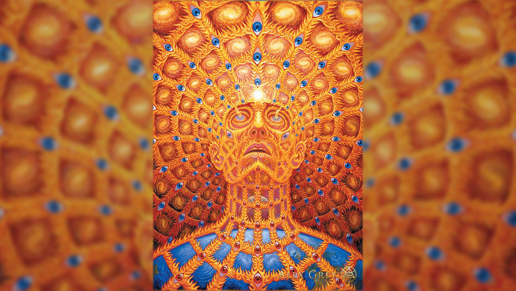 Alex Grey - Premium Archival Canvas
