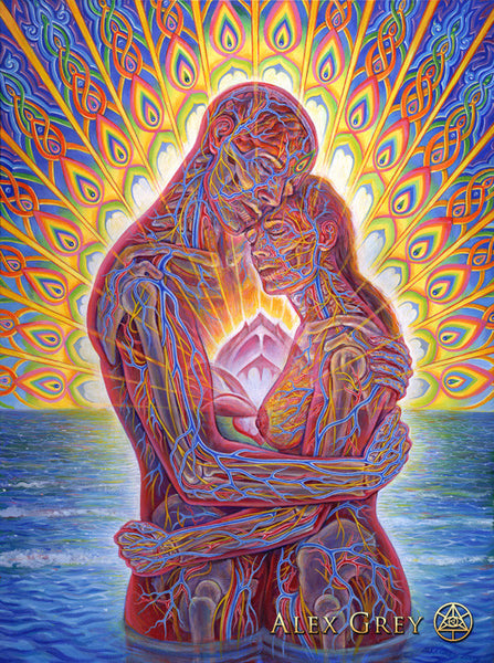 Ocean of Love Bliss by Alex Grey