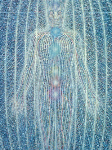 Spiritual Energy System by Alex Grey