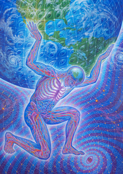 Eco Atlas by Alex Grey