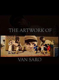 The Artwork of Van Saro Book