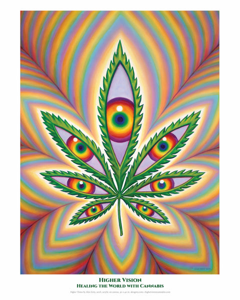 Higher Vision POSTER by Alex Grey
