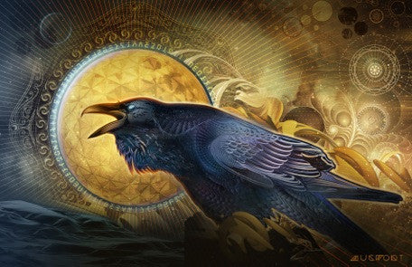 Raven: Darkness into Light By Mugwort