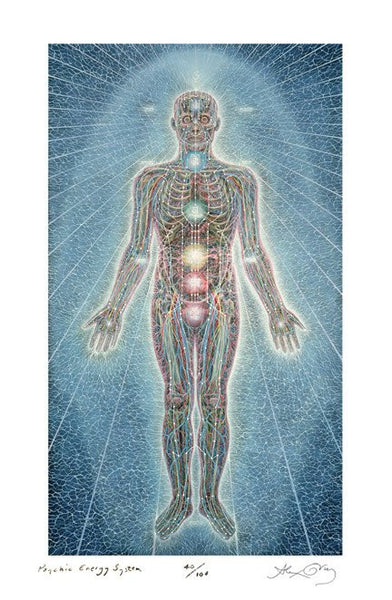 Psychic Energy System By Alex Grey