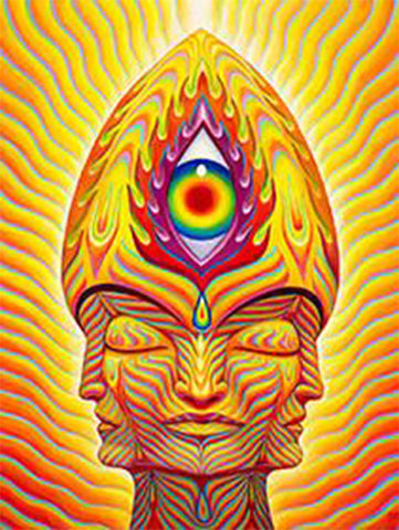 Sol-Invictus by Alex Grey