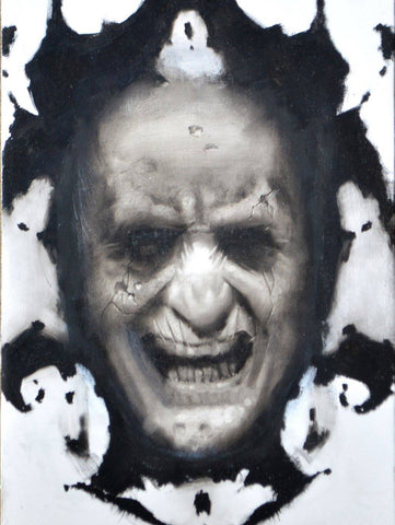 Rorschach Original Painting By Van Saro