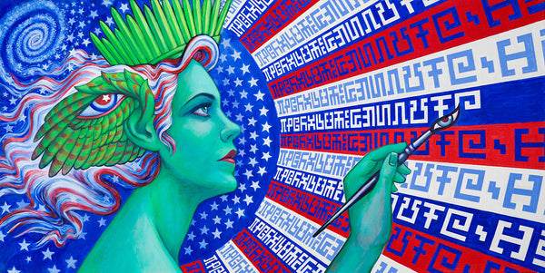 Creative Liberty by Allyson & Alex Grey