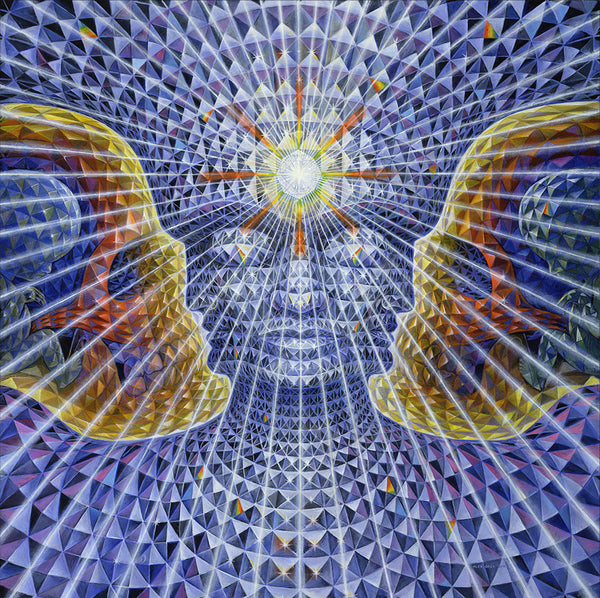 Diamond Being by Alex Grey