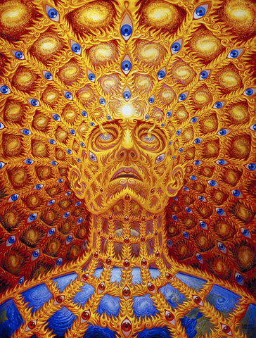 Oversoul by Alex Grey