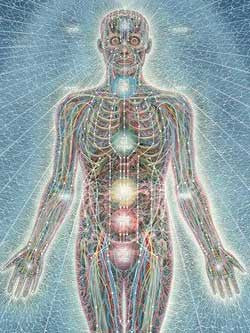 """Psychic Energy System"" by Alex Grey"