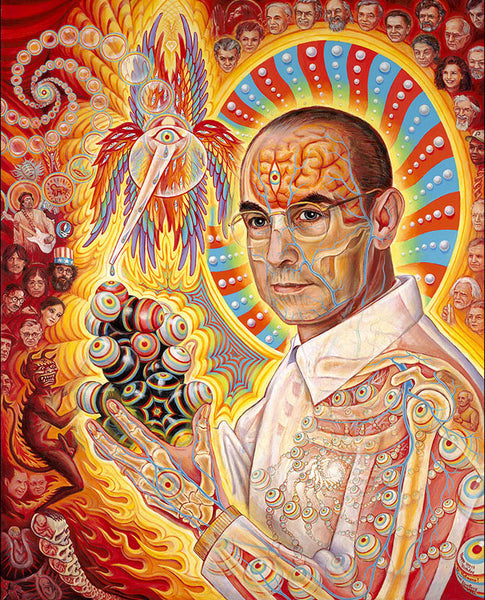 St. Albert and the LSD Revelation Revolution by Alex Grey