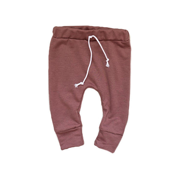Joggers in Rose