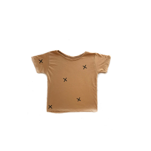 Easy tee in Camel