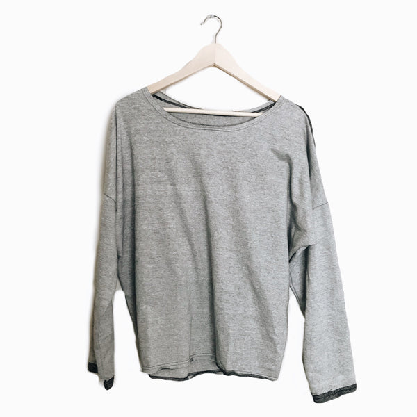 Slouch Pullover in Mist