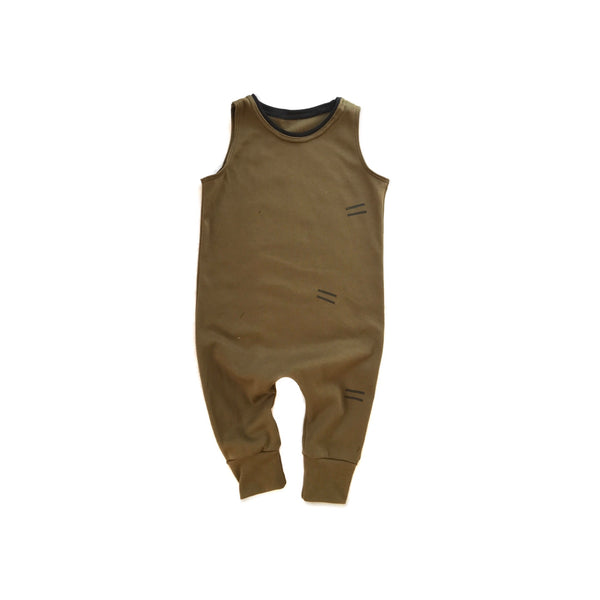 Playsuit in organic Timber