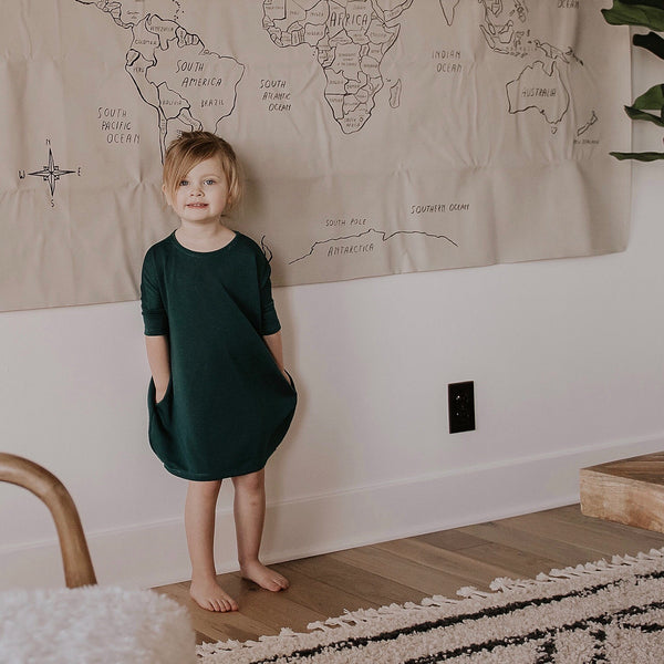 Mini Cocoon Dress