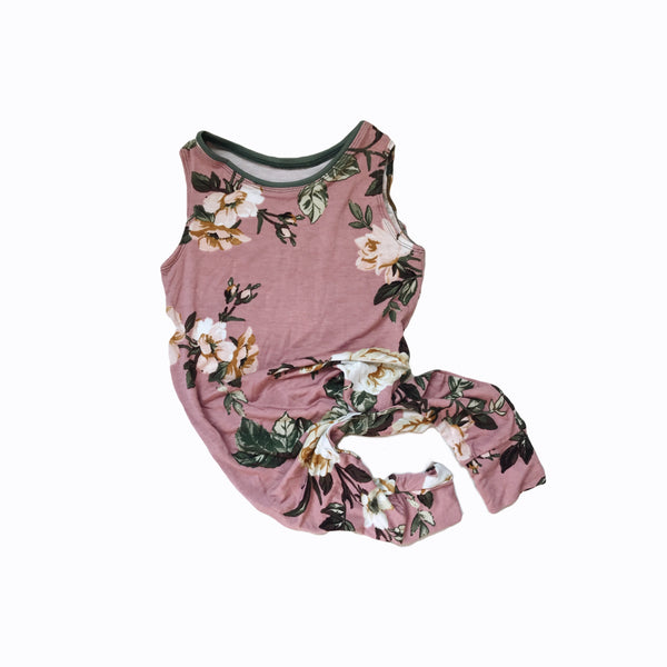 playsuit in floral