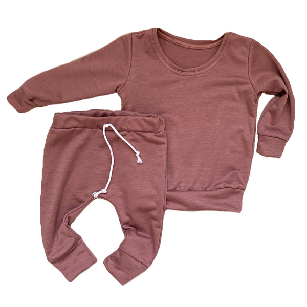 Cozy set in Rose