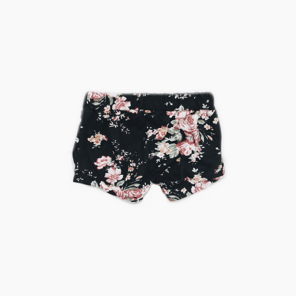 Shortie Shorts in dark Floral
