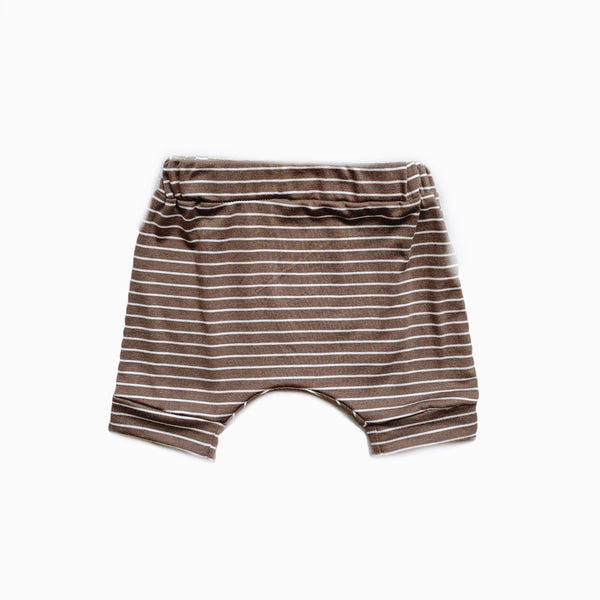 Easy Short in Peanut stripe