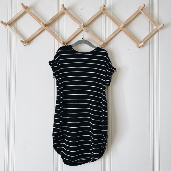 Easy Breezy Mini in skinny stripe