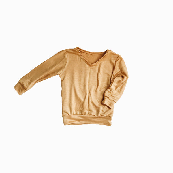 Mini pullover in Blonde