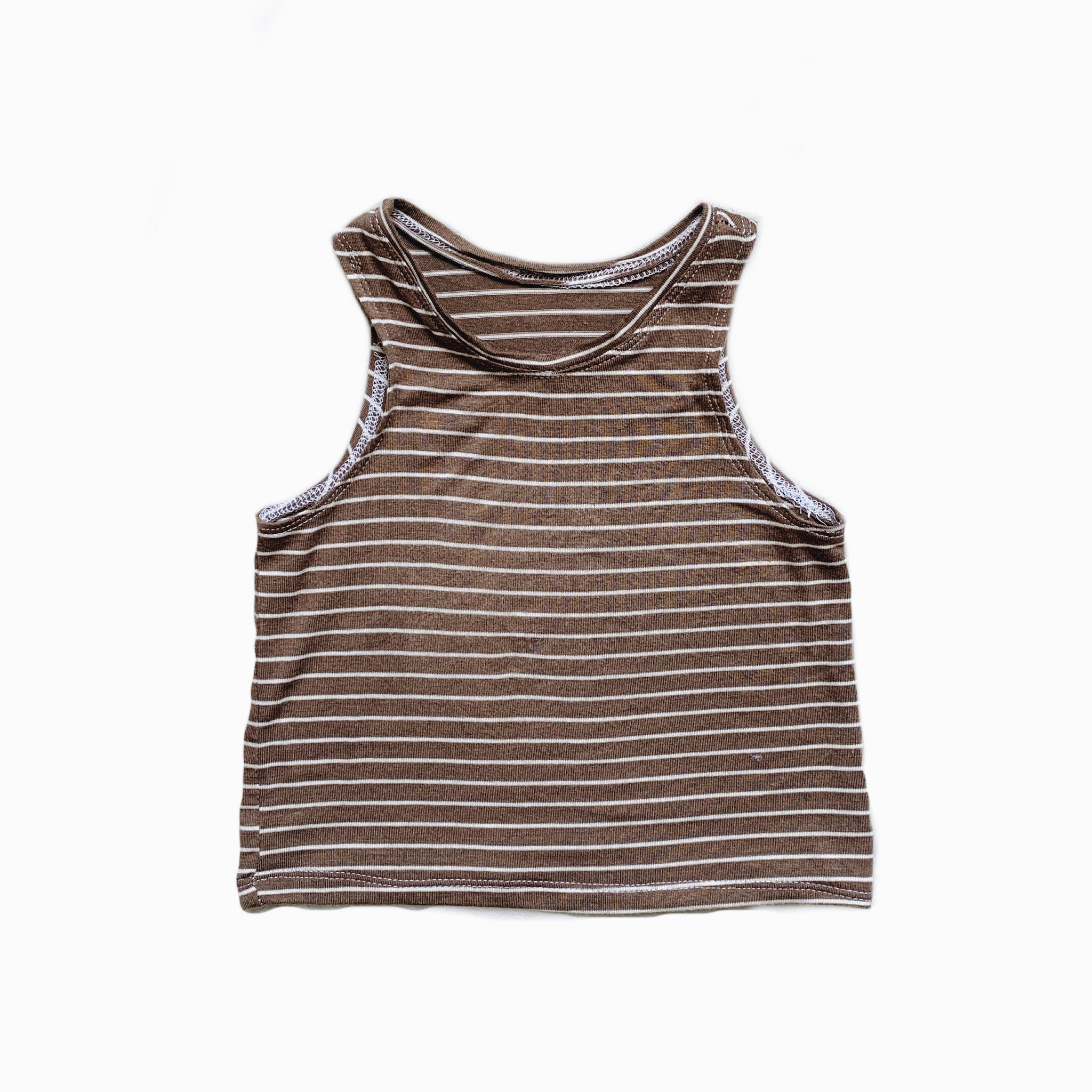 Easy Tank in Peanut Stripe