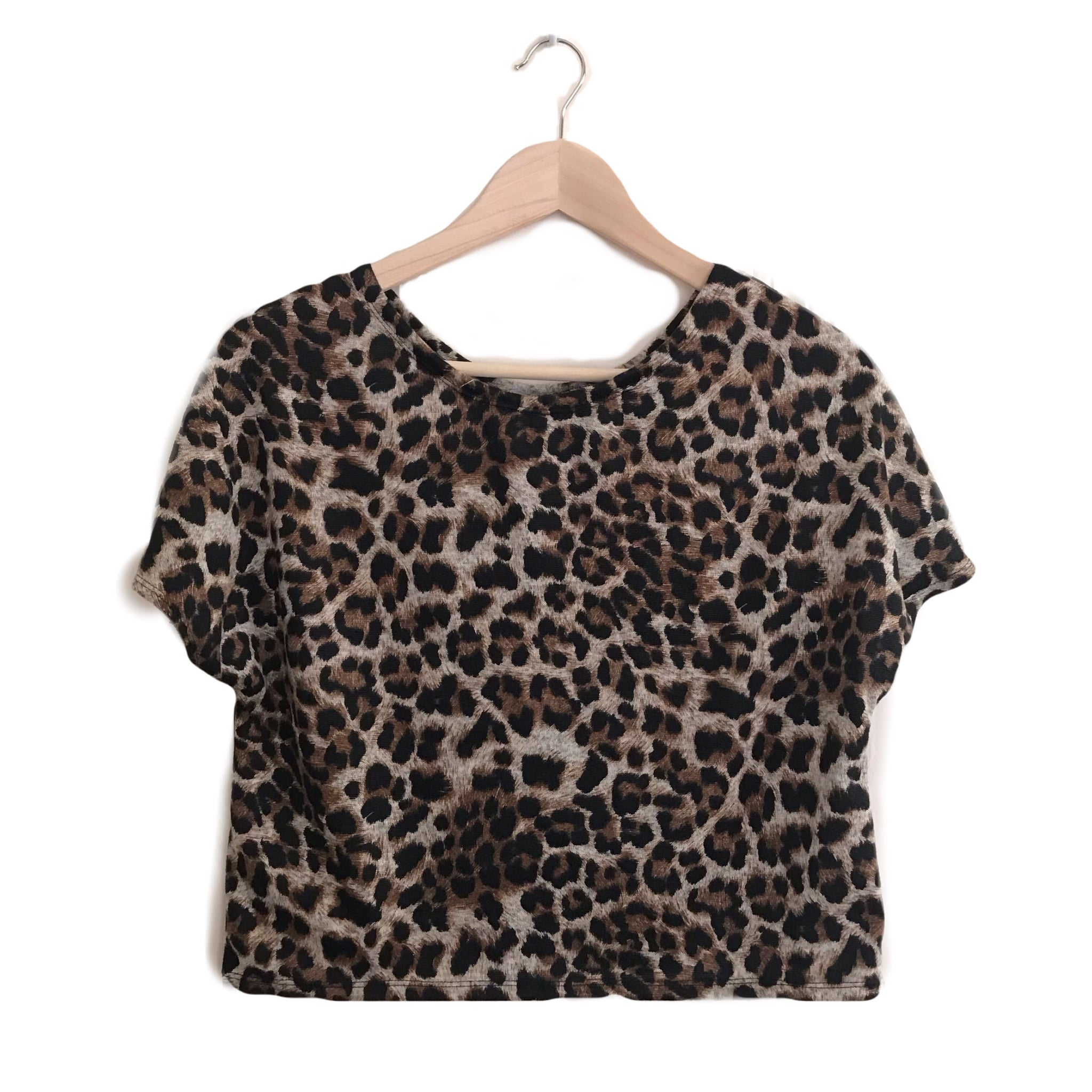 Wild Boxy Crop Top