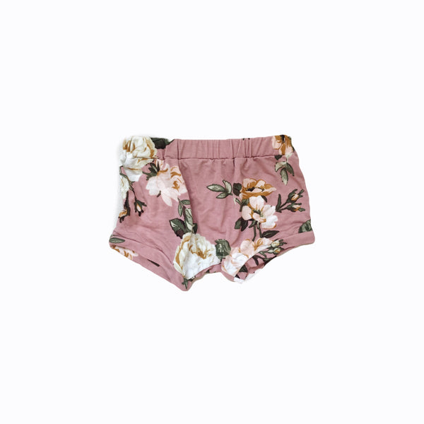 shorties in floral