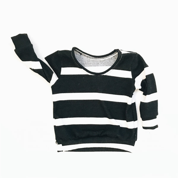 Mini pullover in Stripe